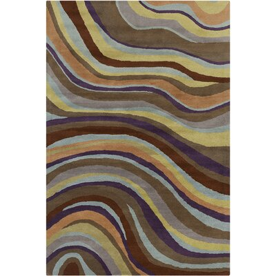 Chatou Hand Tufted Wool Area Rug Rug Size: 8 x 10