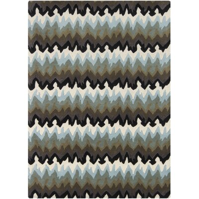 Coalwood Gray Area Rug Rug Size: 5 x 7