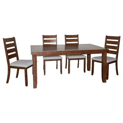 Geduhn 5 Piece Dining Set
