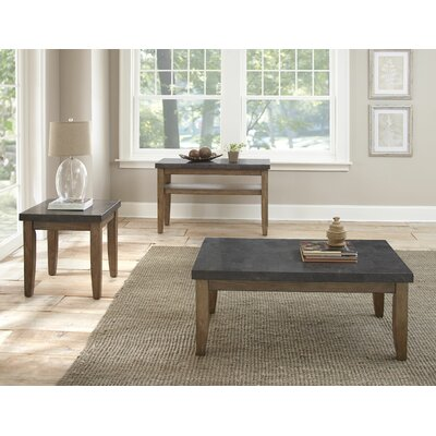 Pine Knob 3 Piece Coffee Table Set