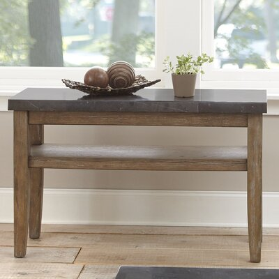 Loon Peak Pine Knob Bluestone Console Table