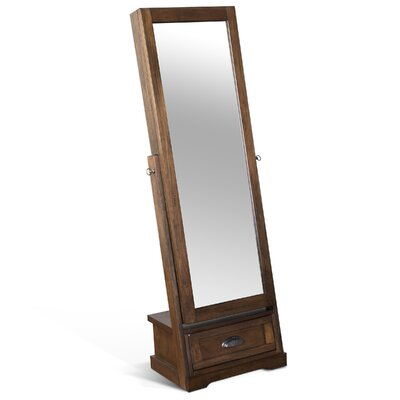 Birney Jewelry Armoire with Mirror