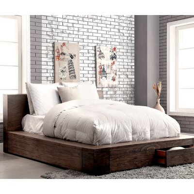 Arianna Platform Bed with Mattress