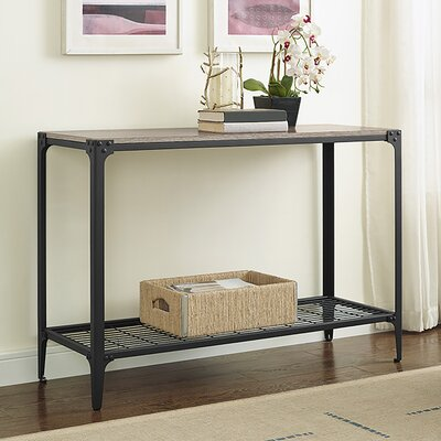 Arboleda Rustic Wood Console Table Finish: Driftwood