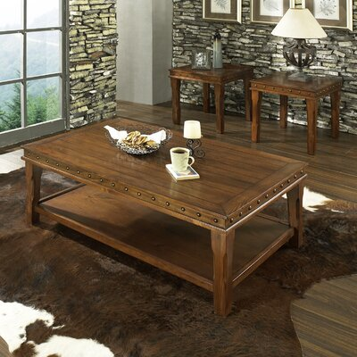 Dolores 3 Piece Coffee Table Set