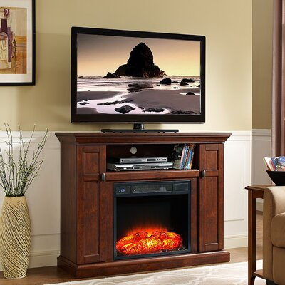 Chetek 46 TV Stand with Fireplace