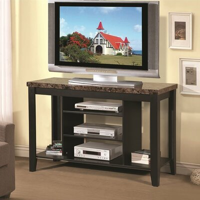 Chisos 47 TV Stand Color: Black