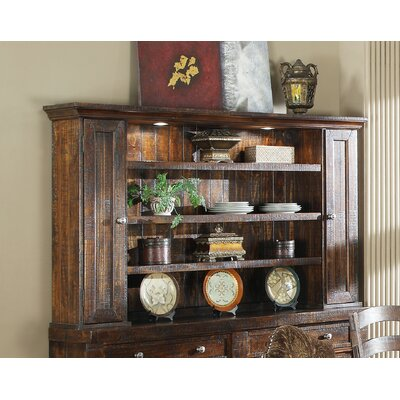 Diez Lighted China Cabinet Top