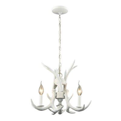 Aldea 3-Light Candle-Style Chandelier