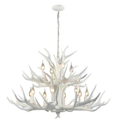 Aldea 12-Light Candle-Style Chandelier