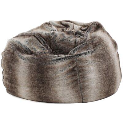 Garfield Bean Bag Chair Upholstery: Ash White
