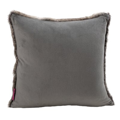Las Animas Throw Pillow Color: Light Gray