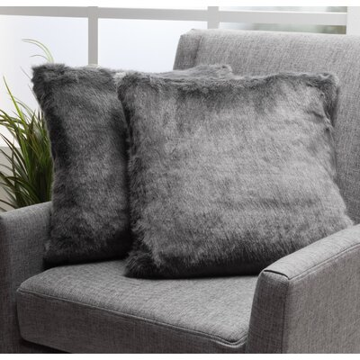 Las Animas Throw Pillow Color: Dark Gray