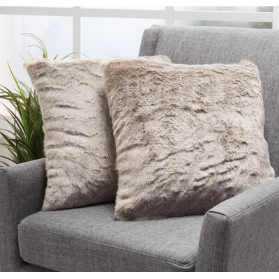 Las Animas Throw Pillow Color: Light Brown
