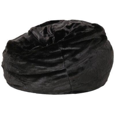 Garfield Bean Bag Chair Upholstery: New Black