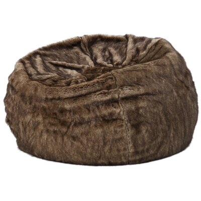 Garfield Bean Bag Chair Upholstery: Dark Brown