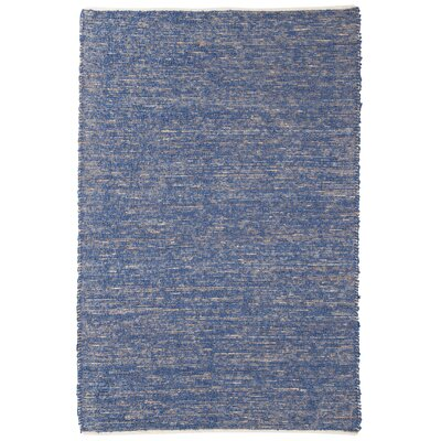 Cumberland Hand-Woven Blue Area Rug Rug Size: 8 x 10