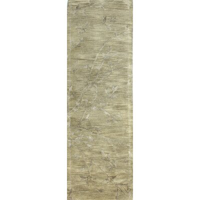 Hazelwood Hand-Tufted Grey Area Rug Rug Size: Runner 26 x 8