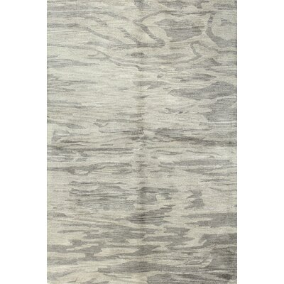 Hermosa Hand-Tufted Grey Area Rug Rug Size: 56 x 86