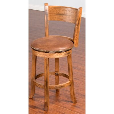 Fresno 24 Swivel Bar Stool Option: With back