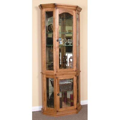 Fresno 5 Side Corner Curio Cabinet