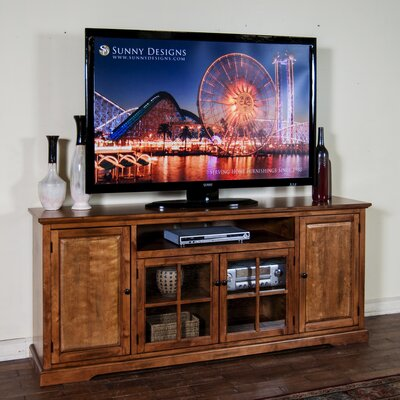 Fresno 64-78 TV Stand Width of TV Stand: 33.5 H x 78 W x 18 D