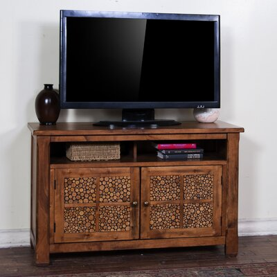Fresno 48 TV Stand Color: Rustic Birch
