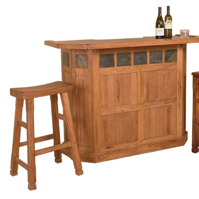 Fresno Bar Set with Bar Stools