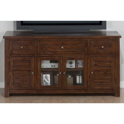 Linden 60 TV Stand Color: Brown
