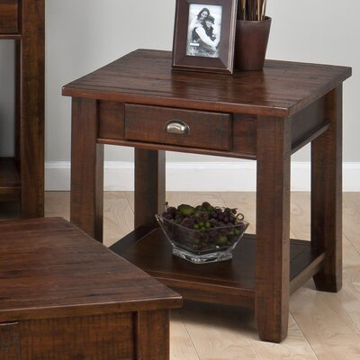 Linden End Table With Storage