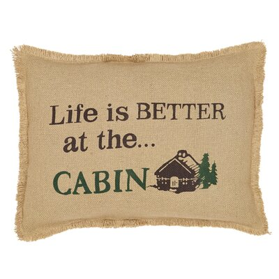 Boothill Life Is Better-Cabin Lumbar Pillow