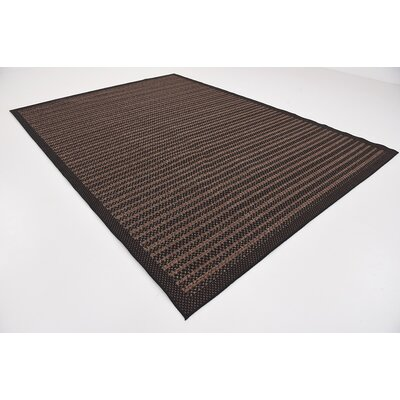 Clayera Brown Outdoor Area Rug Rug Size: Rectangle 33 x 5