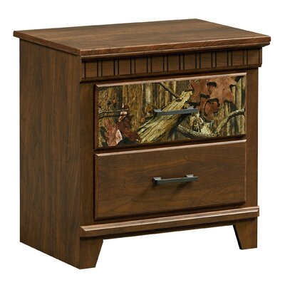 Hayward 2 Drawer Nightstand
