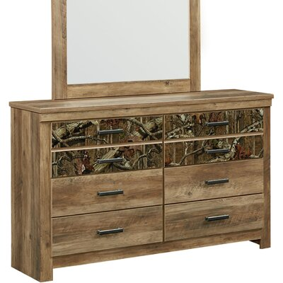 Cooper 6 Drawer Double Dresser