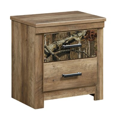 Cooper 2 Drawer Nightstand