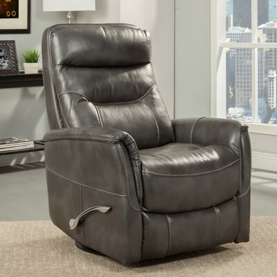 Cohoba Manual Swivel Recliner Color: Flint