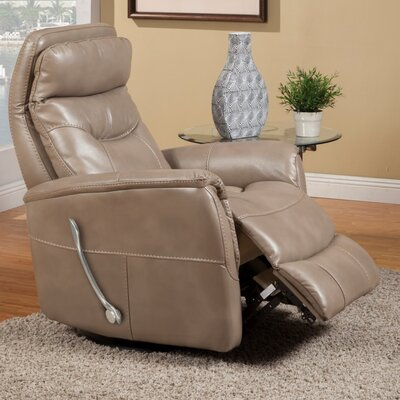 Cohoba Swivel Glider Recliner Color: Linen