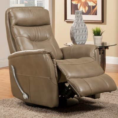 Cohoba Manual Swivel Recliner Color: Linen