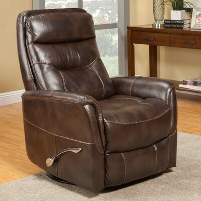 Cohoba Manual Swivel Recliner Color: Truffle