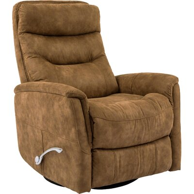Cohoba Swivel Glider Recliner Upholstery: Autumn