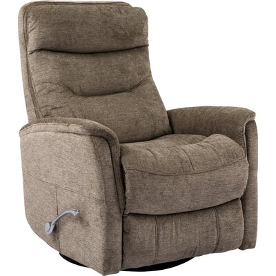 Cohoba Manual Swivel Recliner Upholstery: Heather