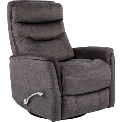 Cohoba Manual Swivel Recliner Upholstery: Titanium