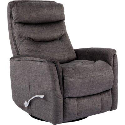 Cohoba Swivel Glider Recliner Upholstery: Titanium