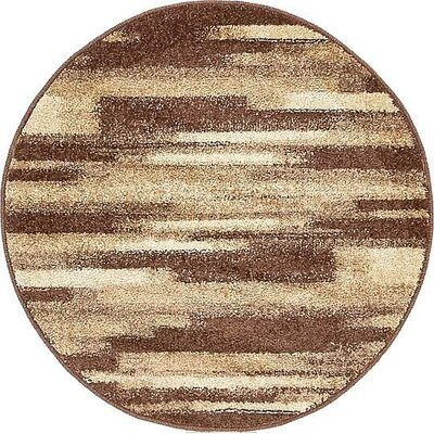 Cotati Brown Area Rug Rug Size: 2 x 3