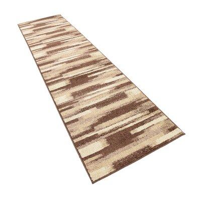 Cotati Brown Area Rug Rug Size: Runner 26 x 10