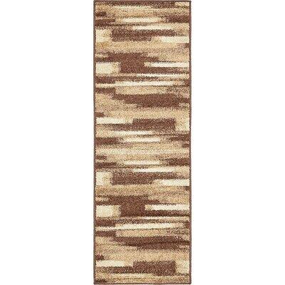 Cotati Brown Area Rug Rug Size: Runner 2 x 6