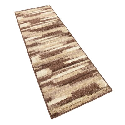 Cotati Brown Area Rug Rug Size: Runner 2 x 6