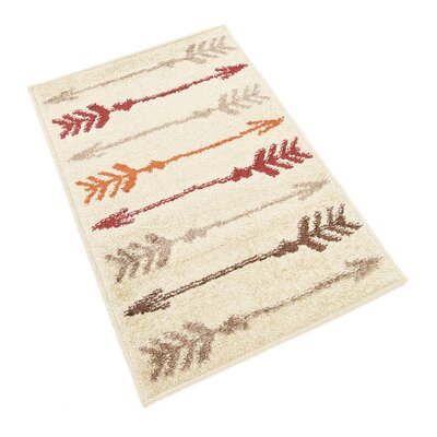 Picabo Beige Area Rug Rug Size: Rectangle 9 x 12