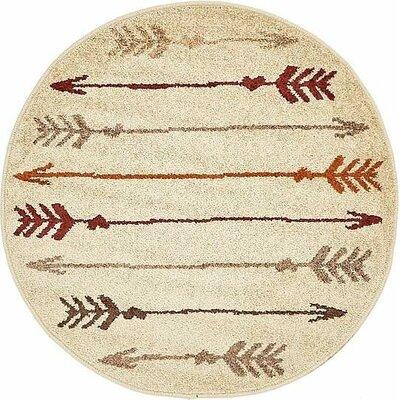 Cotati Beige Area Rug Rug Size: 2' x 3'