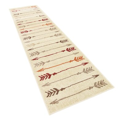 Picabo Beige Area Rug Rug Size: Runner 26 x 10
